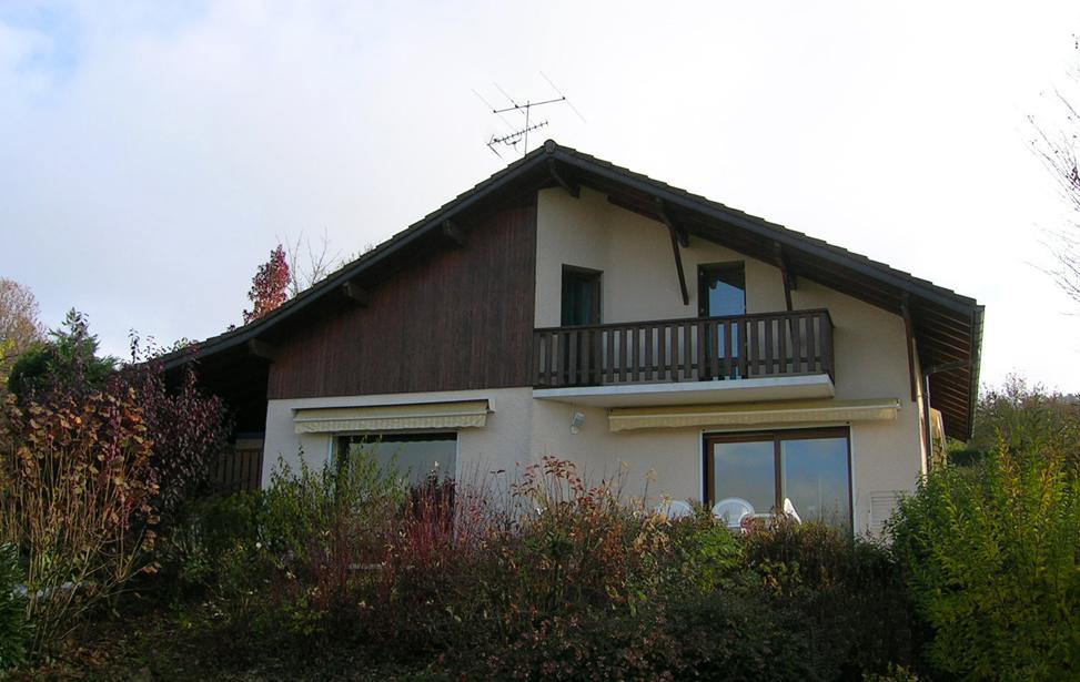 Comblespace Extension De Maison Ossature Bois à Annecy Savoie Et - Exemple d extension de maison