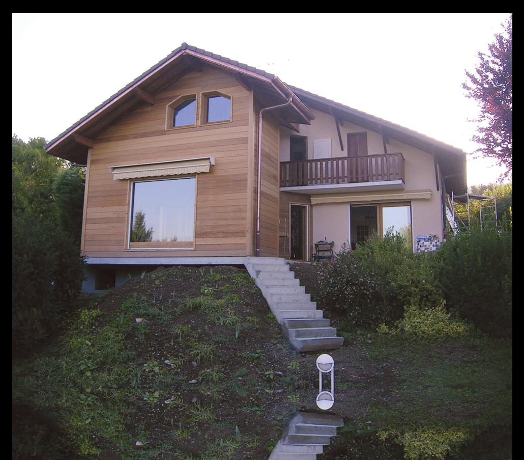 Maison En Bois Annecy comblespace | extension de maison ossature bois à annecy